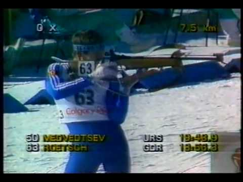 Спринт ОИ Калгари 1988
