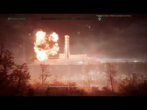 Chernobylite Gamescom demo gameplay Chernobyl Power plant