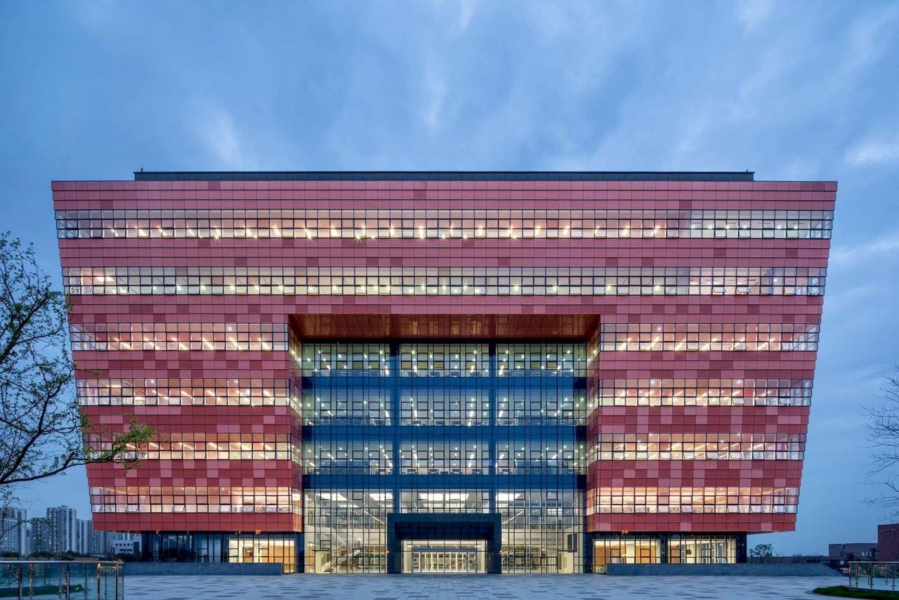 Университетская библиотека в Китае