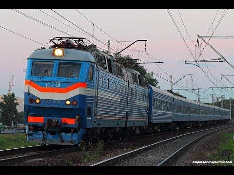 ZDSimulator сценарий пассажирского поезда 086 часть 1