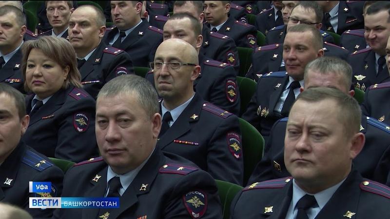 За прошлый год полицейские Башкирии раскрыли 30 тысяч преступлений