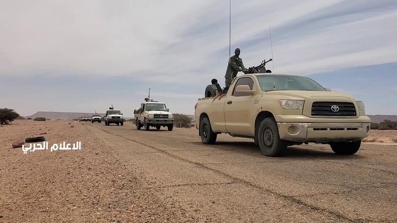 دوريات مكونة من الوحدات العسكرية في حملة أمنية واسعة لفرض الأمن داخل منطقتي حوض مرزق وأوباري