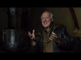 Werner Herzog about Baby Yoda and the technologies used in the Mandalorian