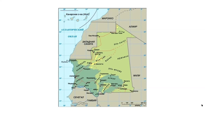 Занимательная Сахара Мавритания