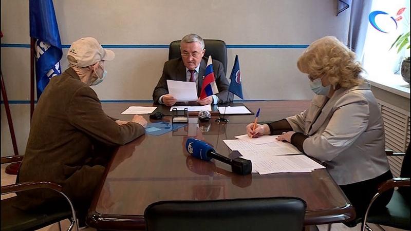 Юрий Бобрышев провел прием по личным вопросам