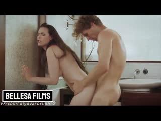 Casey Calvert - Bellesa Films: MILF's fucked in bathroom (2020) Blowjob, Big ass, Cuckold, Creampie, Cosplay
