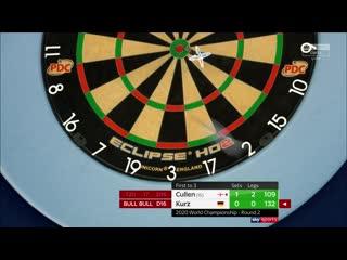 Joe Cullen vs Nico Kurz (PDC World Darts Championship 2020 / Round 2)