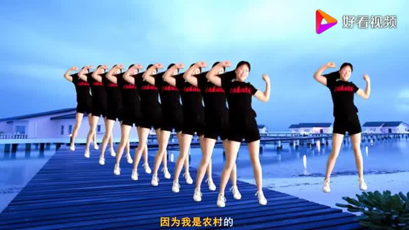 А Чжэнь Танцы на улице 阿真广场舞 Прорваться на пристань 闯码头