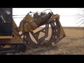 Как работает траншеекопатель