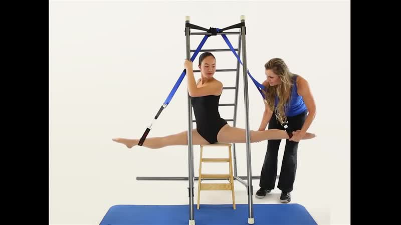 SLs Aerial Splits Aerial Straddle From StretchGym with Stacey Nemour