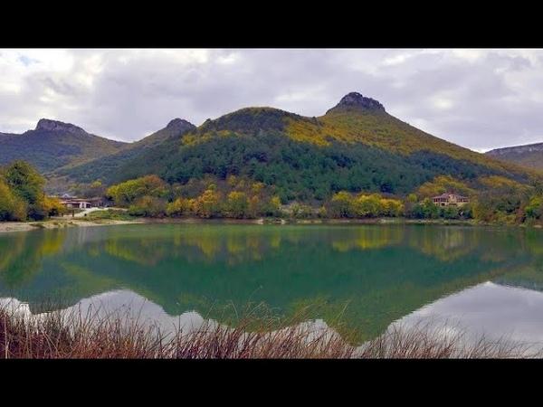КРЫМ Девичье или Мангупское озеро