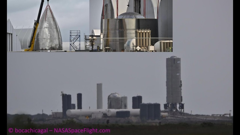 SpaceX Boca Chica Starship SN3 comes to life as SN4 waits in the wings