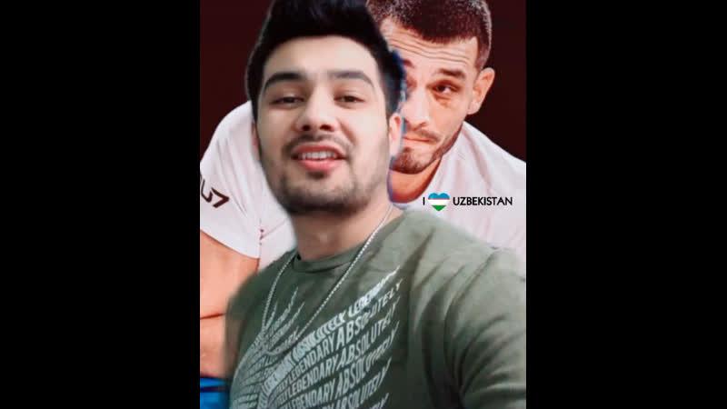Makhmud Murodov Первый узбек UFC