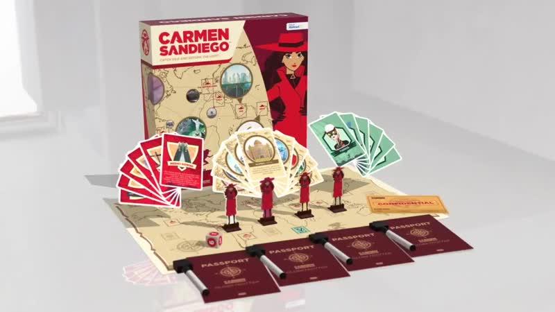Play the CarmenSandiego Board Game!