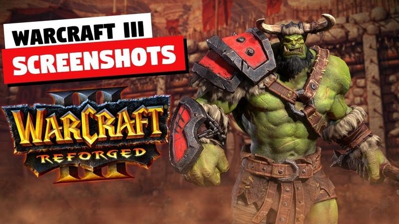 Warcraft III Reforged Beta Client Screenshots | Art Assets, Loading Screens, Campaign Screens