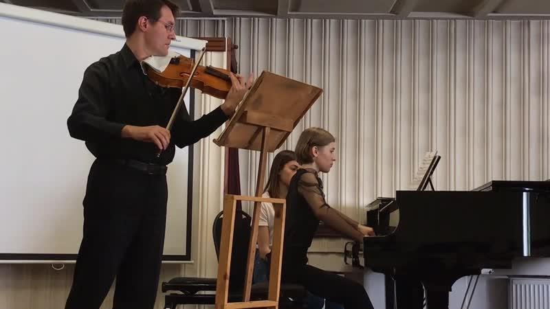 Брамс соната для альта и ф-но 1, 2018 г.