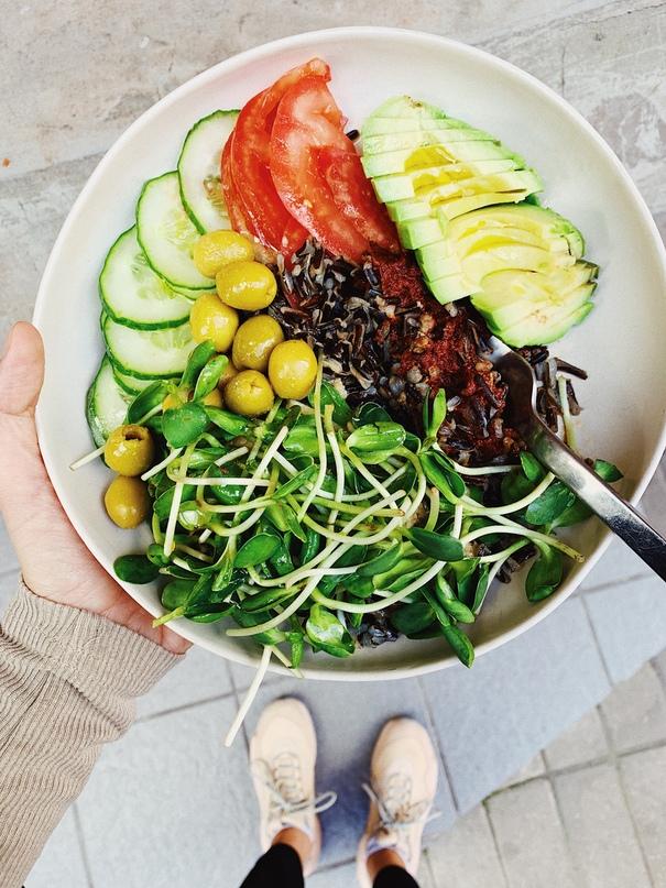 Овощи с каждым приёмом пищи — один из принципов, которому я следую каждый день.