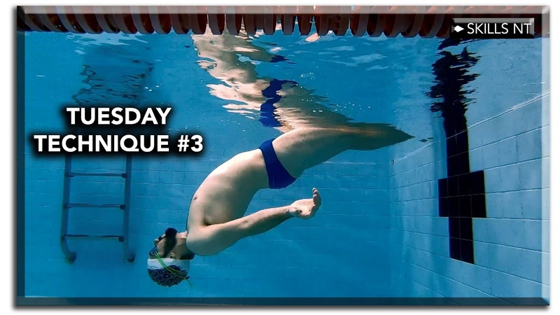 Backstroke swimming basic technique Tuesday 3 floating