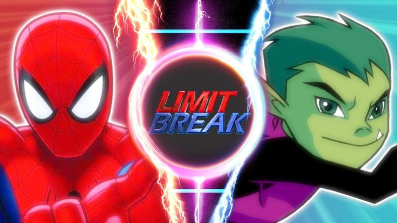 Spider-Man VS Beast Boy (MARVEL VS DC)   Limit Break   S1E1 (Pilot)