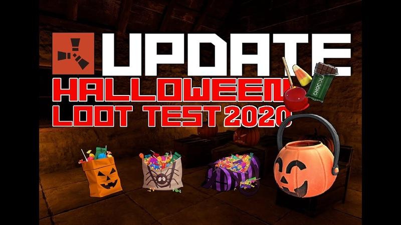 Halloween 2020 Loot test