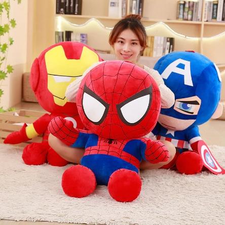 Мягкие игрушки-супергерои