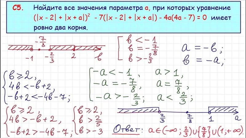 Задание 18 ЕГЭ по математике 16
