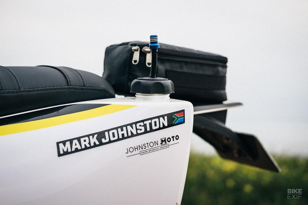 Johnston Moto: Раллийный мотоцикл Husqvarna FE 501