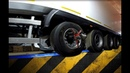 Проведение регулировки схождения колес и положения осей