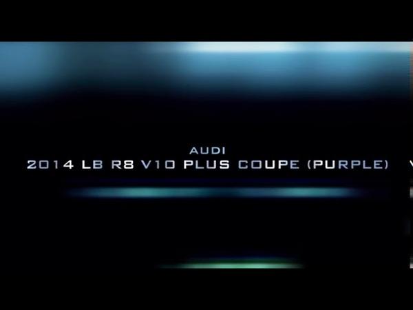 CSR2 Audi 2014 LB R8 V10 plus Coupe (purple) tune shift (time 10.695)