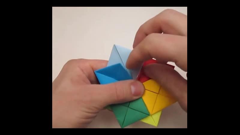 Потрясающая поделка оригами