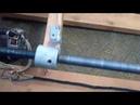 Намотка нагревательной спирали на самодельном станке
