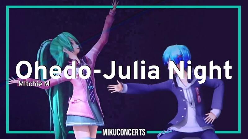Ohedo Julia Night Hatsune Miku Magical Mirai 2019 Sub Rom Esp