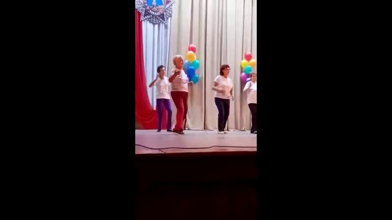Фестиваль клубов общения в ДК Звезда 2019 г. танец зумба коллектива Зумбаголд.
