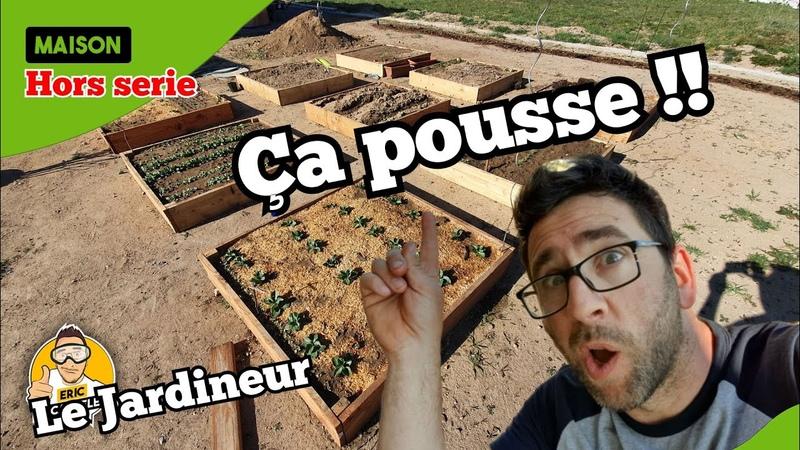 Eric Le Jardineur - Faire son Jardin et des Carrés Potager !!