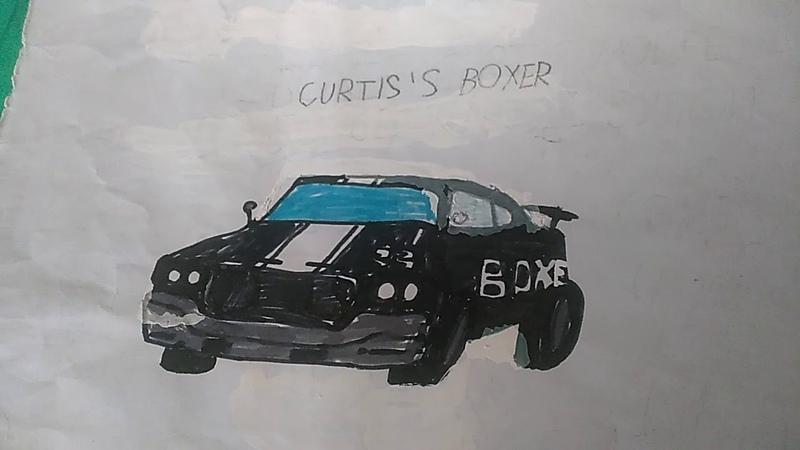 Рисунок Curtis Wolfe's Boxer из flatout ultimate carnage