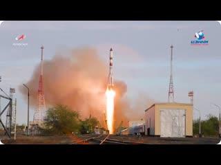 Пуск РН Союз-2.1а с ТГК Прогресс МС-14  25 апреля 2020 г