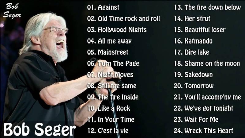 BOB SEGER Greatest Hits Full Album Best Songs Of Bob Seger