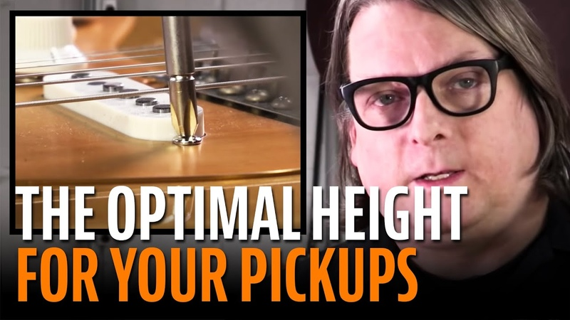 How to set the height of your guitar pickups for optimal tone