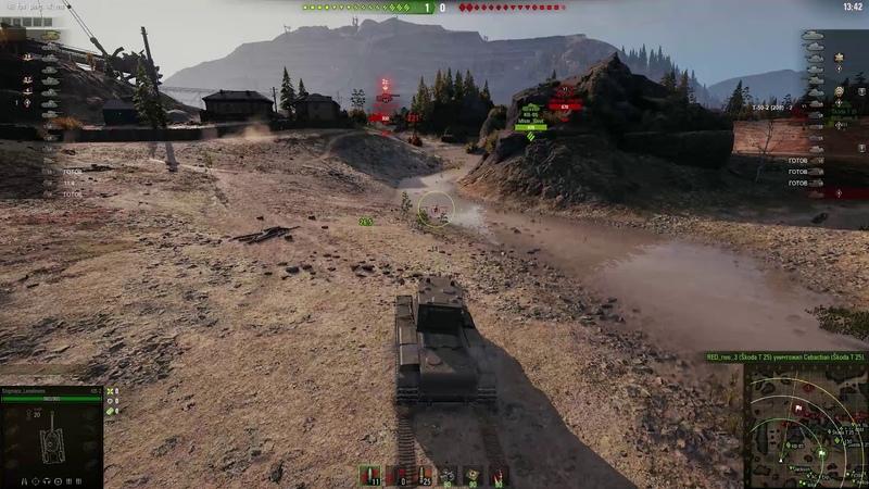 WoT КВ-2 не рандом