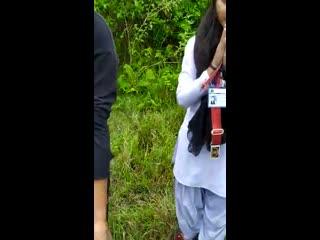 Jungle me mangal desi girl sex Part - 3