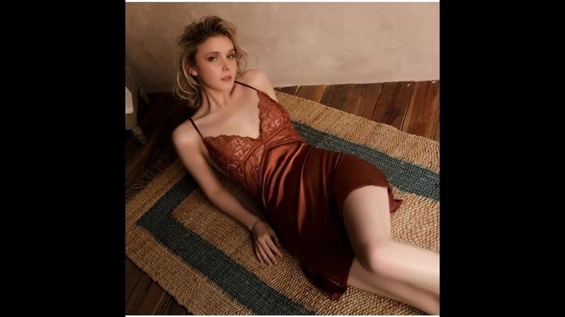 Летнее сексуальное ночное платье кружевная ночная рубашка новое женское нижнее белье с открытой спиной кружевная v образная Пижама шелковая ночная рубашка домашняя одежда