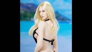 Красивая сексуальная Европейская и американская кукла с большой груди 1/6 масштаб