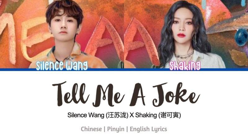 Silence Wang 汪苏泷 THE9 Shaking 谢可寅 Tell Me A Joke 说个笑话 Lyrics 歌词 Chinese Pinyin English