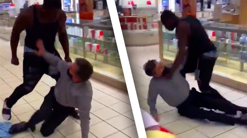 Macy's Employee Brutalized Media Doesn't Care Because He's White