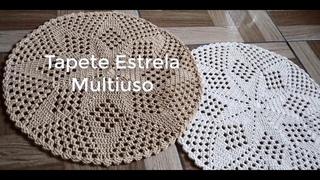 TAPETE ESTRELA MULTIUSO - TAPETE ECONÔMICO - TAPETE VIVI COELHO