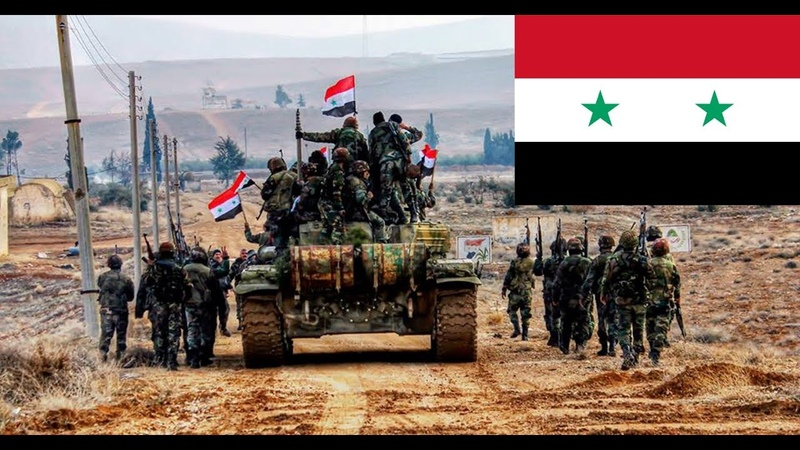 Syrian Arab Army 2019