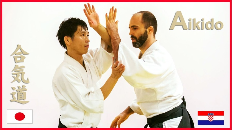 Aikido Move softly and change technique freely in Croatia Shirakawa Ryuji shihan