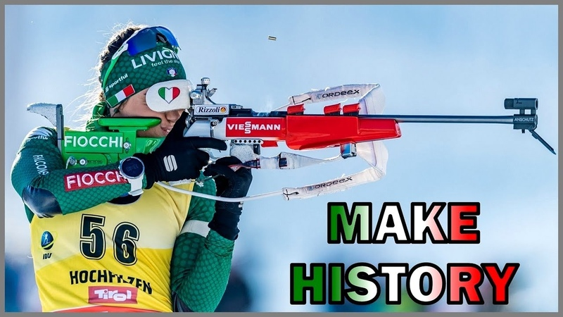 Dorothea Wierer makes history