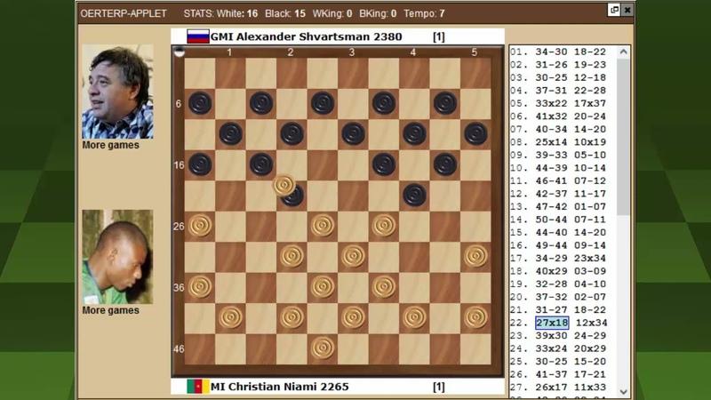 Ниами Шварцман Чемпионат Мира по международным шашкам 2021