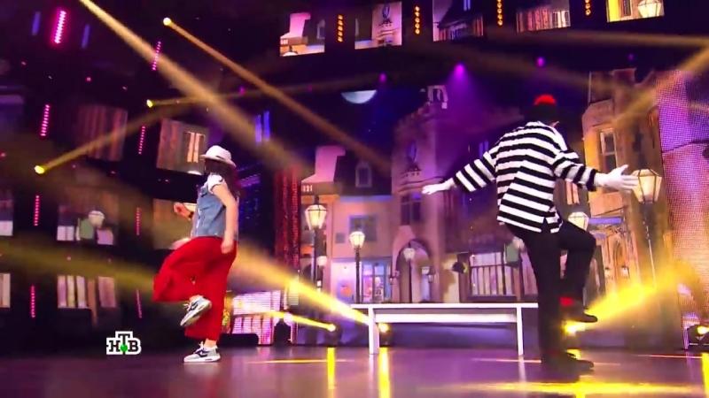 Обаятельные Джейхун и Нуриза исполнили супертанец и показали залу всю мощь своего таланта